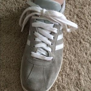 Grey addidas sneakers